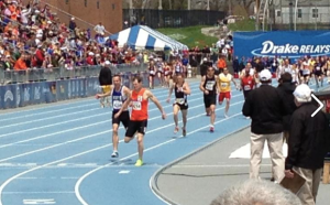 Another close battle to the finish with Lance Elliott